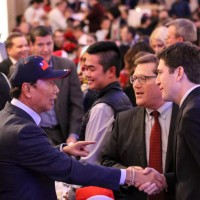 Taiwan's Foxconn founder Gou visits Wisconsin project