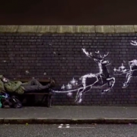Banksy's latest work features homelessness in Birmingham
