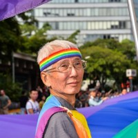 Taiwan gay rights pioneer supports President Tsai's re-election