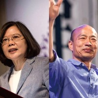 Taiwan's president continues to lead Han in latest poll