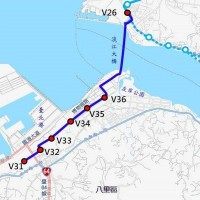 New Taipei plans an LRT line between Tamsui and Bali (image by New Taipei DORTS).