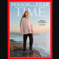 瑞典環保少女桑柏格 獲選2019「時代雜誌」年度風雲人物