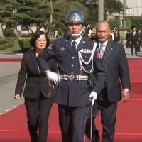 堅定擁護台諾關係    諾魯總統訪台共尋雙邊合作