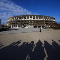 東京奧運主場館亮相 原木打造濃濃禪風