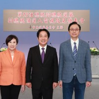 Taiwan vice presidential hopefuls debate on live TV about China and nuclear energy