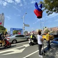 挺韓遊行再現國旗海 韓國瑜維安考量未領軍