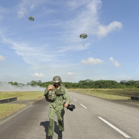 Singaporean paratrooper injured during jump in Taiwan
