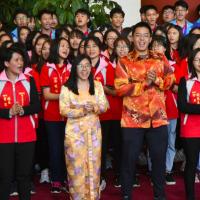 馬來西亞青年台灣觀摩團 國父紀念館歡樂獻唱