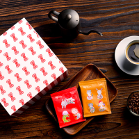 童趣破表!台灣插畫家領軍偏鄉孩童創作 新年咖啡禮盒萌到捨不得喝
