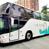 Taipei-Hualien shuttle bus gets big makeover