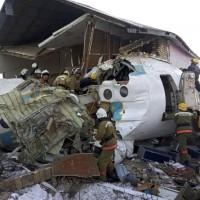 起飛後墜毀2層樓民宅  哈薩克廉航空難12死54人輕重傷