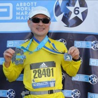 Taiwanese team receives 'Six Star' medals after completing Boston Marathon