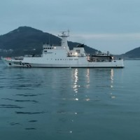 Penghu patrol ship. (Matsu Coast Guard photo)