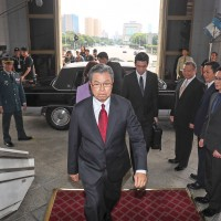 Taiwanese 'House of Cards' shoots inside Presidential Office Building