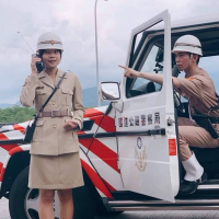 After uniform upgrade, Taiwan Highway Police showcase vintage threads