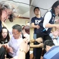 Brawl breaks out in Taiwan legislature over appointment of CEC head