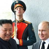 金正恩與普丁 在海參崴展開首次高峰會