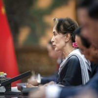 Tainted Myanmar leader Aung San Suu Kyi visits China to attend Belt and Road Forum