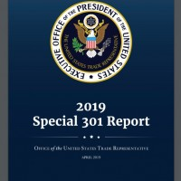 USTR Special 301 Report puts China on 'priority watch list,' excludes Taiwan