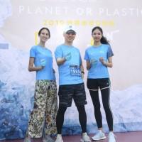 哈林擔任國家地理頻道環保大使 與名模同響應「世界地球日」路跑