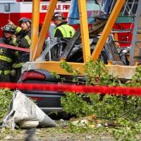 西雅圖Google新大樓施工 起重機意外墜落4死4傷