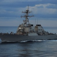 Report finds US warships made 92 transits through Taiwan Strait since 2007