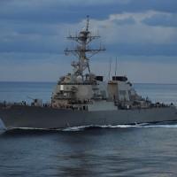 美國軍艦2007年來 穿越台海次數高達92次