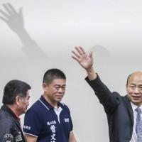 韓國瑜:無法參加初選民調 黨若納入予以尊重