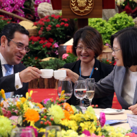 Guatemala President Morales voices unwavering support for Taiwan