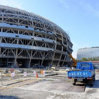 Taipei Dome construction to resume after five-year hiatus