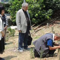 Indigenous Taiwanese man tracks down father's grave after 66 years