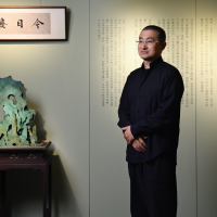 Calligrapher's debut exhibition underway at Yiyun Art of Taipei