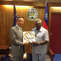 Taiwan seeks to solidify ties with Solomon Islands