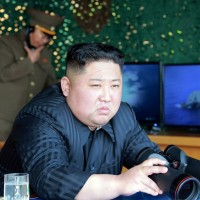 Kim tells troops to be alert after overseeing N. Korea missile drills