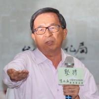 陳水扁新書發表會 座椅臨時調整不上台