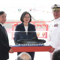 Indigenous submarine production 'the only path' for Taiwan: Tsai Ing-wen