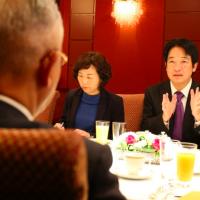 賴清德訪日會見多位重量級國會議員(圖/賴清德臉書)