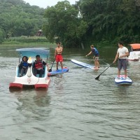 SUP and swan boats to be introduced to Green Grass Lake in Taiwan's Hsinchu