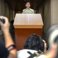 Hong Kong chief executive: territory not becoming police state