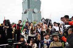 May the Fourth Be With You: Taiwan President appears at Star Wars event