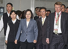 President Tsai pledges to make Taiwan a reliable digital nation, attract investment