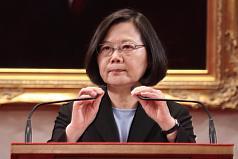 中美貿易戰升溫 蔡英文:用高品質「臺灣製造」取代「中國製造」