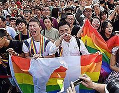 President celebrates Taiwan's same-sex marriage legalization anniversary