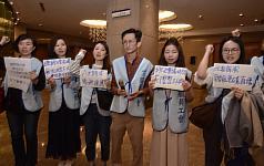 Taiwan EVA Air flight attendants plan June 4 protest