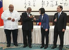 Taiwan and Belize ink agreement on promoting clean governments