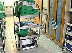 Taiwan hospital develops self-propelled cart with AI