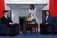 盼加入CPTPP 蔡英文:台灣願遵守國際經貿高標準