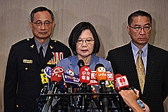 Taiwan president rules out refugee act for Hong Kong protesters