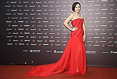 Head-turners on the red carpet at Taiwan's Golden Horses
