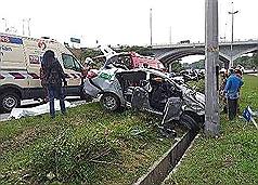 台灣女子馬來西亞出車禍 1死1傷